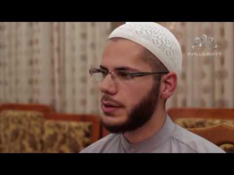 palestinian converted to Shia Islam on Ahul Bayt TV