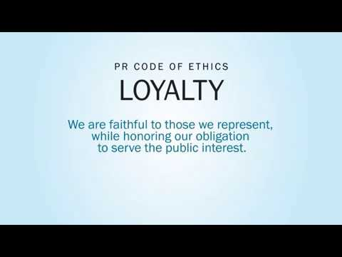 Ep. 5. PR Ethics Code Value: Loyalty with Stacy Smith, APR, Fellow PRSA