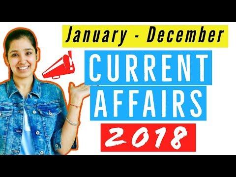 Top Current Affair 2018 | (January - December) Trending Topics 2018