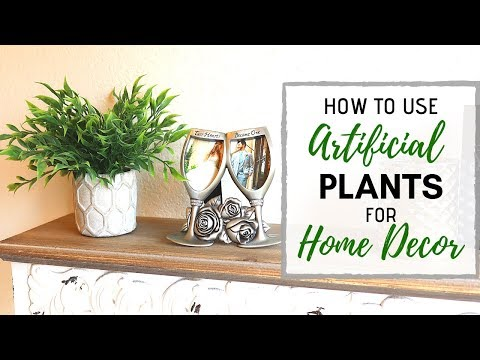 Faux Plant Decor: Tips for Decorating with Fake Plants