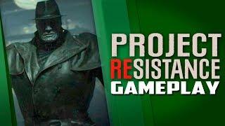 Primeiro gameplay oficial do novo Resident Evil, Project Resistance