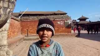 Interview with a very smart boy in Nepal