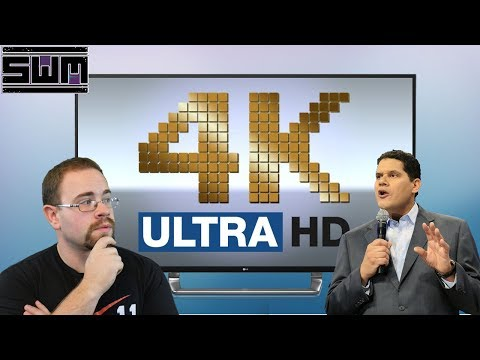 News Wave! - Nintendo Talks 4K While The Xbox One X Does...6K?!
