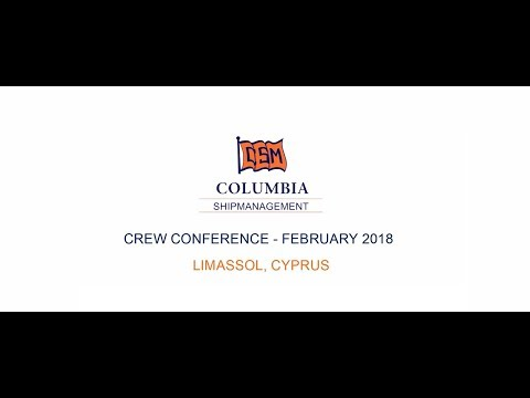Columbia Crewing Conference 2018 - Limassol, Cyprus