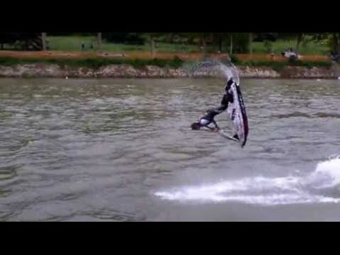 Flyboard - Coolest Water Jet Ski Salto EVER!!!