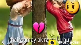 😜Jaane Kyun Main Sochta Hoon Khali Samay Ek Rasta Hoon WhatsApp status💕