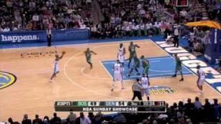 Boston Celtics vs Denver Nuggets (21 Feb 2010)