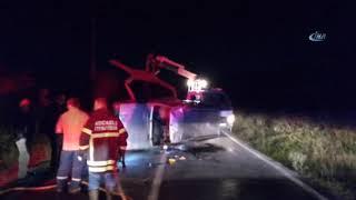Gebze'de Trafik Kazası! Otomobil Takla Attı: 3 Yaralı