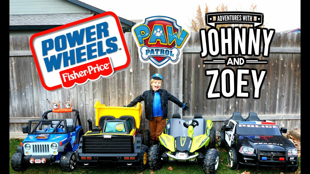 POWER WHEELS Race With Paw Patrol Costume, Power Wheels