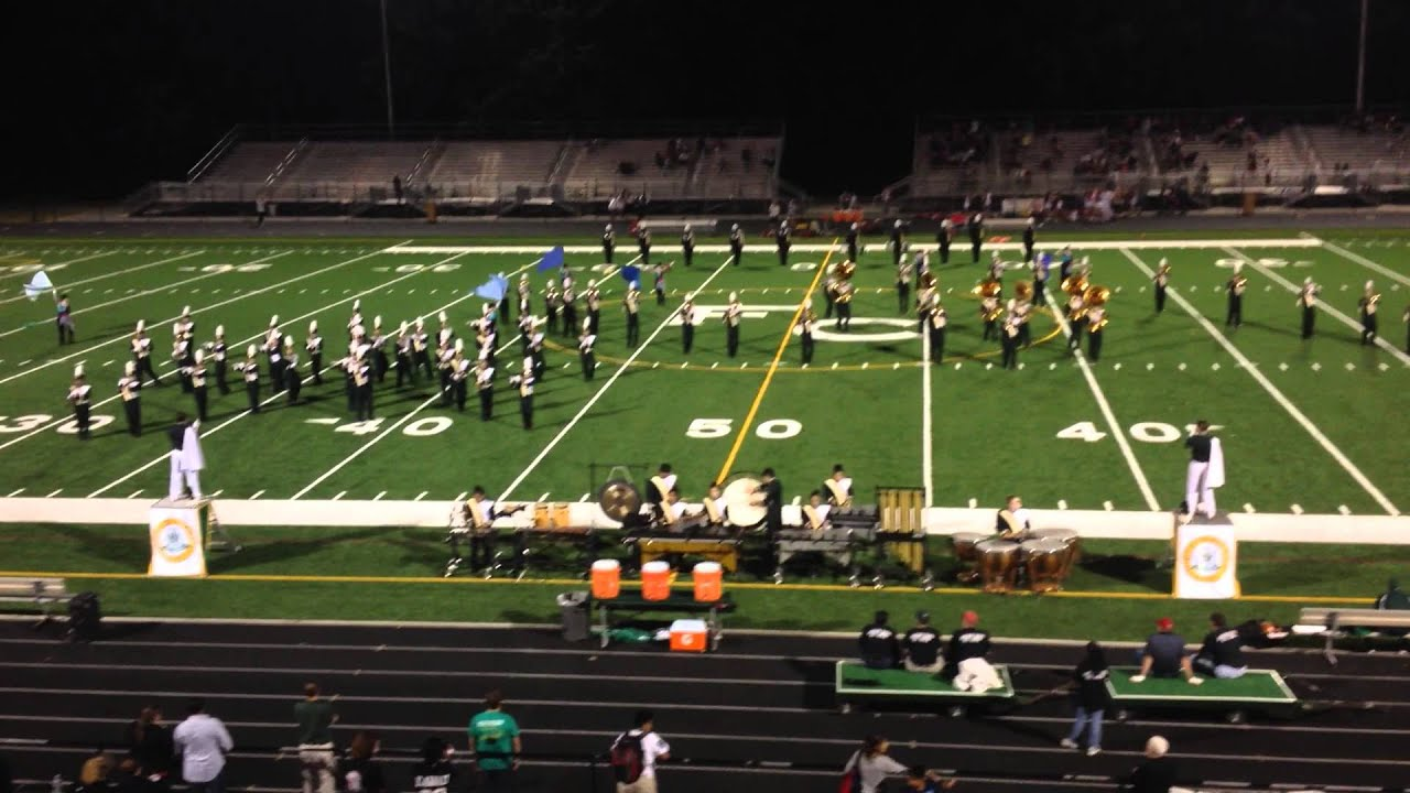 Falls Church Marching Band 9/20/13 - YouTube