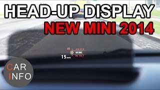 MINI Head Up display review 2014