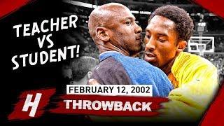 "Michael Jordan vs Kobe Bryant UNREAL ""Teacher vs Student"" DUEL 2002.02.12 - EPIC Highlights!"
