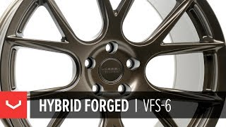 Vossen Hybrid Forged | VFS-6 | Satin Bronze