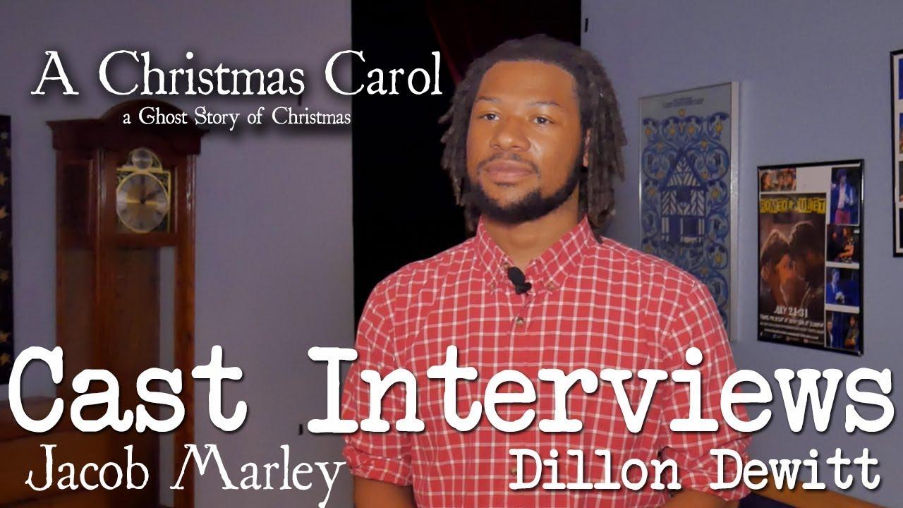 A Christmas Carol Cast.A Christmas Carol Cast Interviews Dillon Dewitt