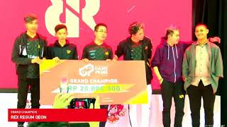 CLOSING CEREMONY BEKRAF Game Prime 2018
