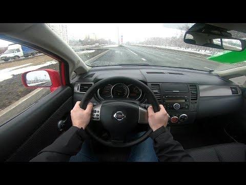 Nissan Tiida POV City Driving