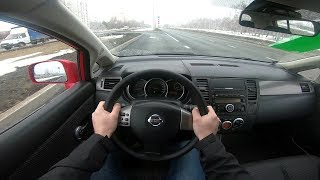 Nissan Tiida Pov City Driving