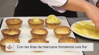Apple tartlets and Quinua Real flakes