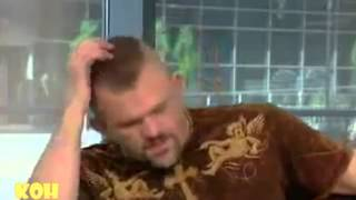 chuck liddell the rock n roll clown that does cocaine