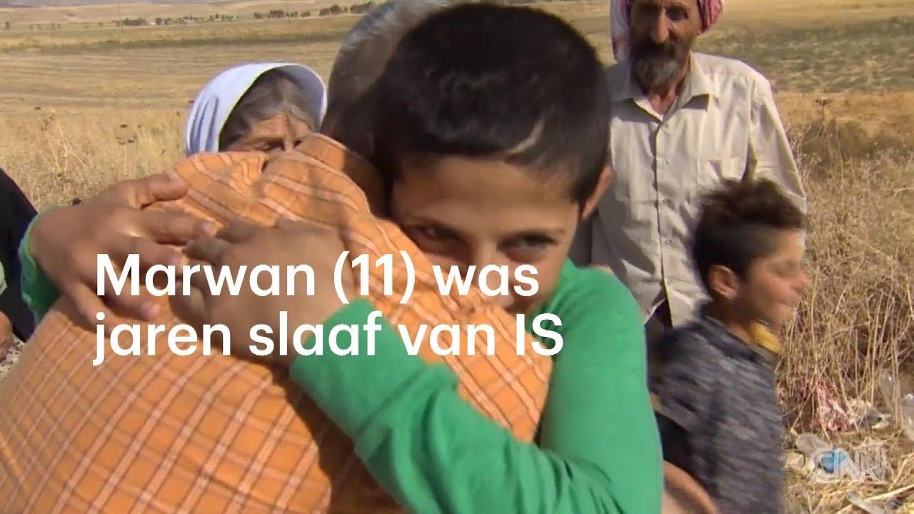 KIndsoldaat Marwan (11) gered van slavernij IS - YouTube