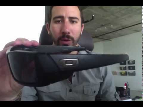 Oakley Gascan Matte Black 03-473 Sunglasses Review - YouTube b1e8888622