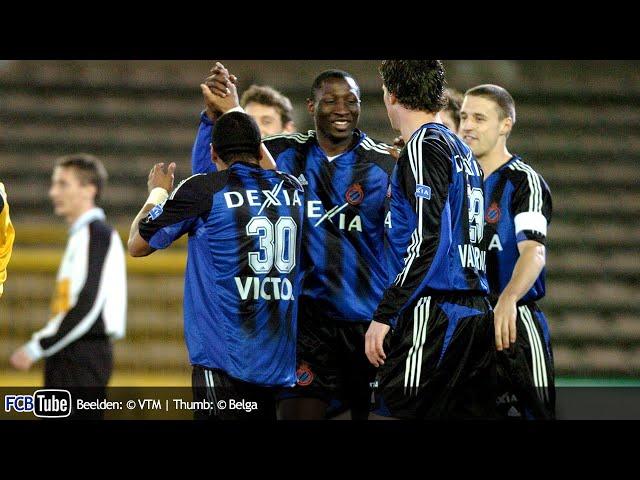 2004-2005 - Beker Van België - 02. 8ste Finale - Club Brugge - Olympic Charleroi 4-0