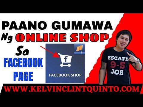 ⛔️PAANO GUMAWA NG ONLINE SHOP SA FACEBOOK PAGE   FACEBOOK TUTORIALS