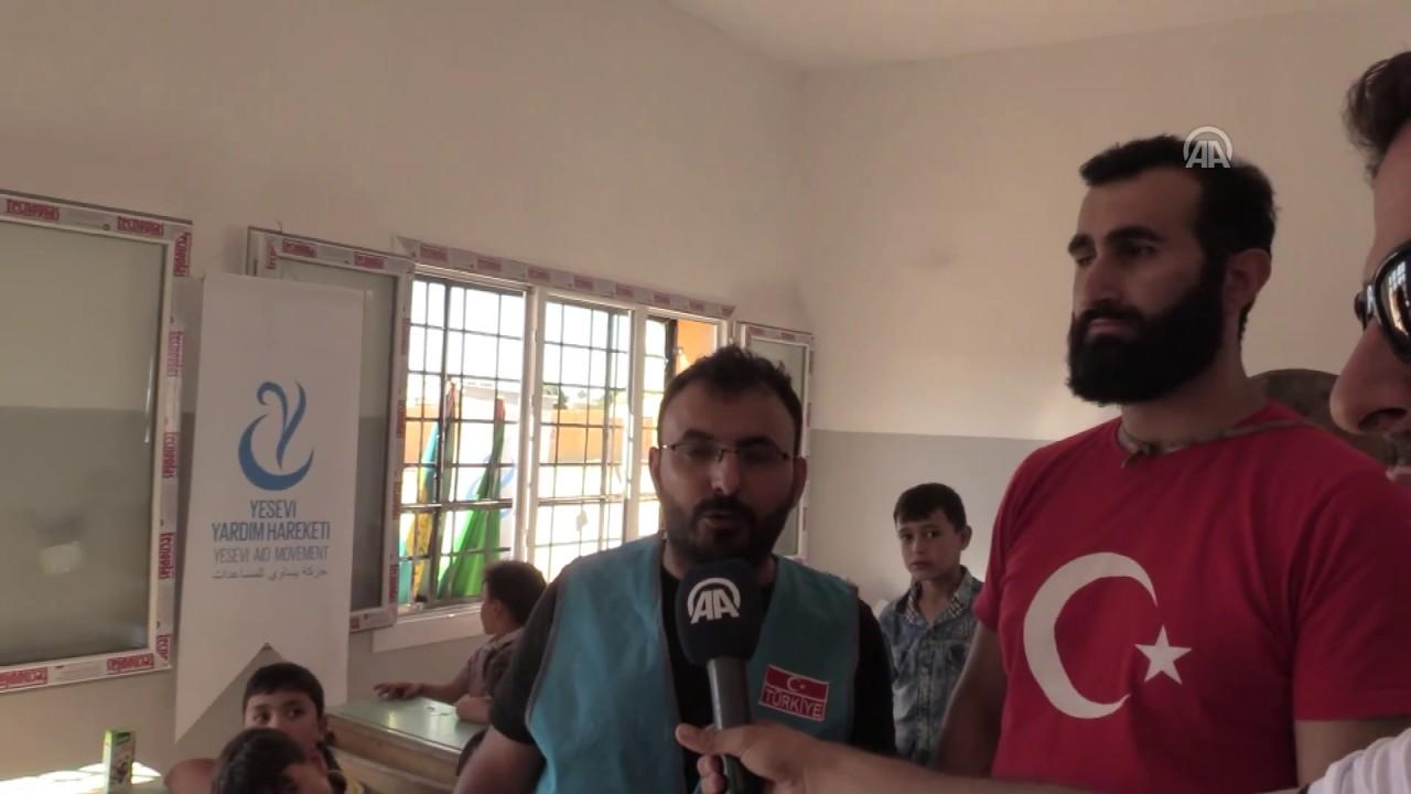Türkiye'nin Suriye'deki eğitime desteği sürüyor