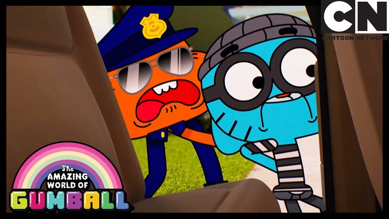 Darwin Arresting Gumball? | The Sale | Gumball | Cartoon Network