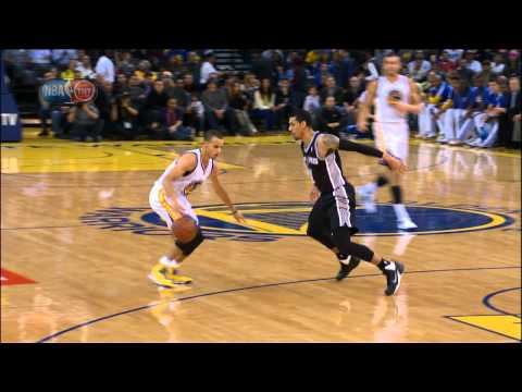 Stephen Curry Dances and Dishes to David Lee for the Jam