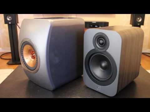 KEF LS50 vs. Q Acoustics Q3020 Comparison Review