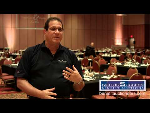 Benefit & Fundraising Auctioneers - Schur Success Benefit Auctions