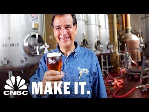 How Jim Koch Turned His Sam Adams Brewery Into A $1 Billion Company | CNBC Make It.
