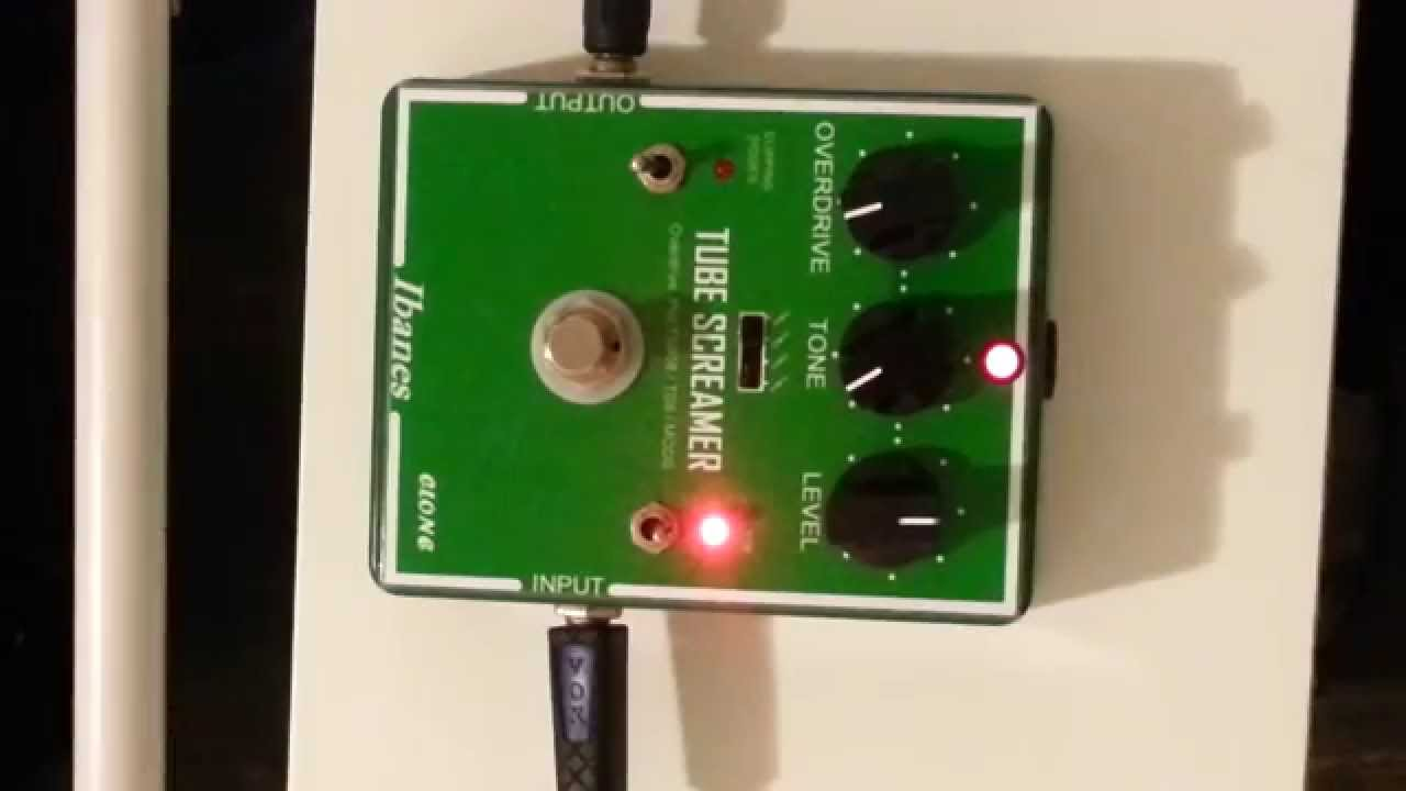 ibanez tube screamer ts808 ts9 mods clipping diode c