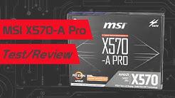 Günstiges X570 Mainboard? MSI X570-A Pro Review