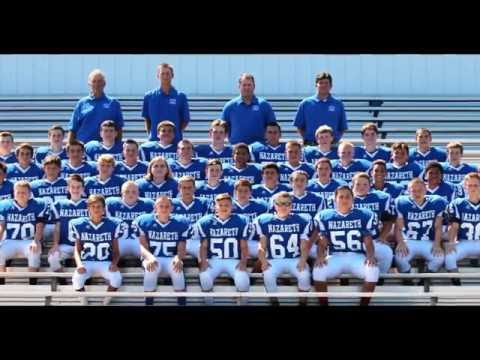 Nazareth Area Middle School Football Team 2016