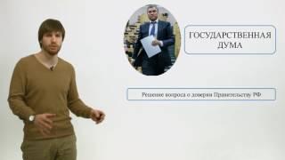 Обществознание ЕГЭ 2017: Органы государственной власти РФ