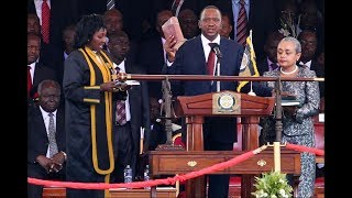 Shebesh says Uhuru Kenyatta will be sworn in with or without the help of anybody