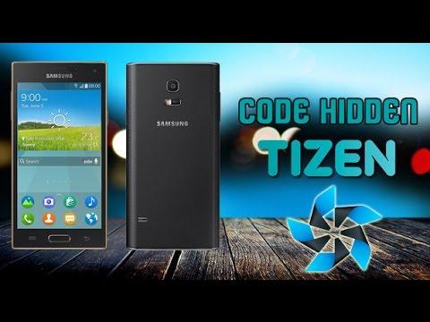 Hidden code OS Tizen