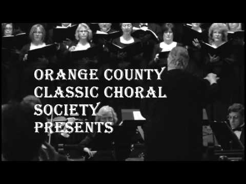 Orange County Classic Choral Society Christmas