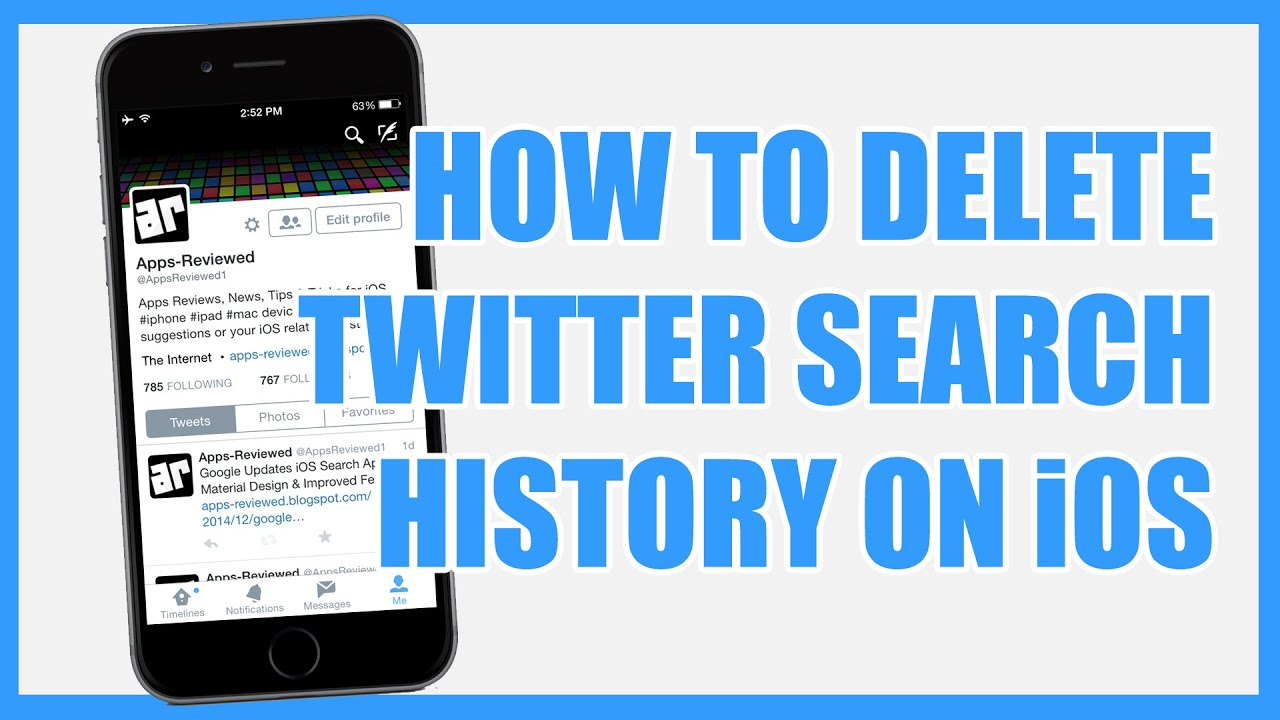How to delete twitter search history on iphone ipad youtube how to delete twitter search history on iphone ipad ccuart Images