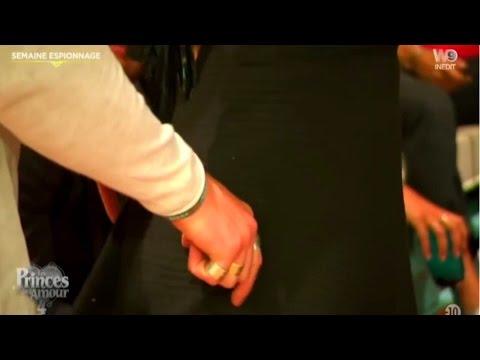 Les princes de l'amour 4 - Victoria se fait Caresser les Fesses - Zapping télé (30/01/2017)