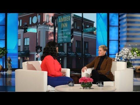 AJ - GoodNews UPDATE: She Purchased Hotels For Homeless, Ellen Gives Her $50k