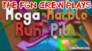 The FGN Crew Plays: Roblox - Mega Marble Run Pit (PC)