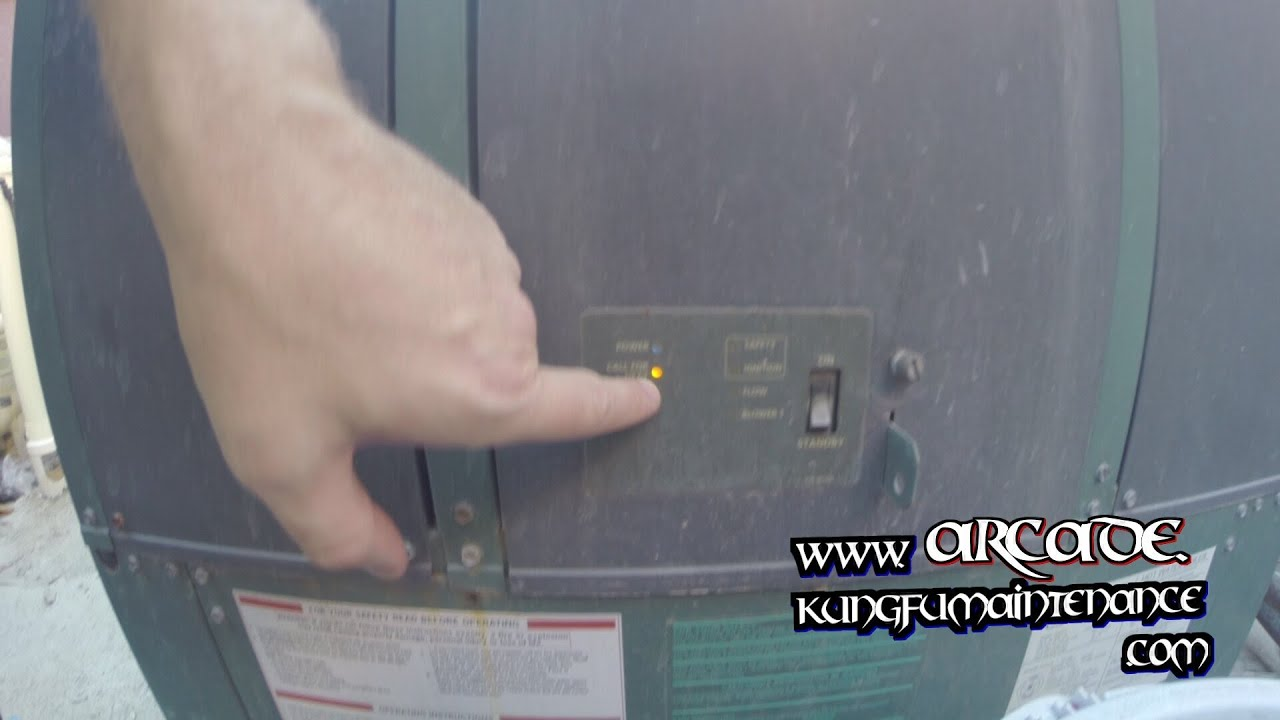 How to turn on the boiler for heating water 65