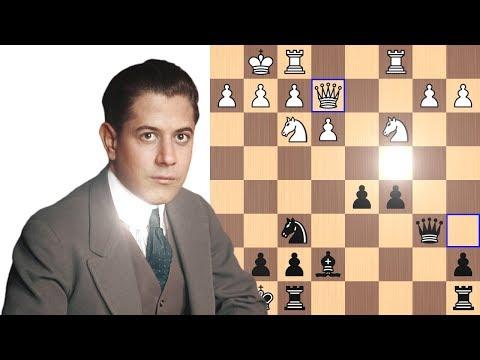 Capablanca explains his revolutionary move