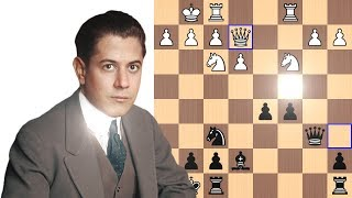 Capablanca explains his revolutionary move