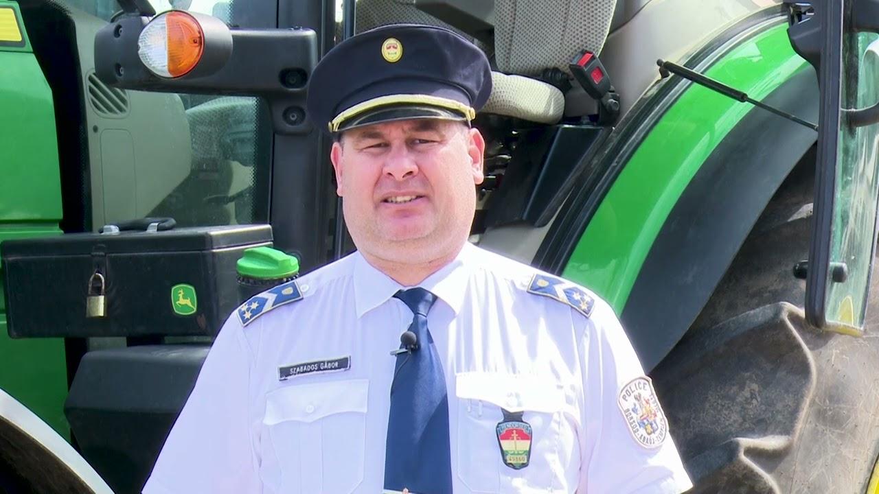 Mezőgazdasági járművezetők figyelem!
