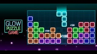 How I'm Glow Block Puzzle Game Playing By Mr.StarWar screenshot 2