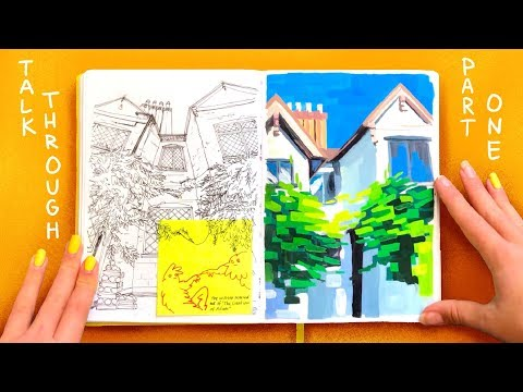 Talking Through My ACCEPTED Calarts Sketchbooks // PART 1